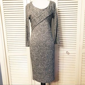 Derek Heart | 🌺Gray Knit Stretch Dress